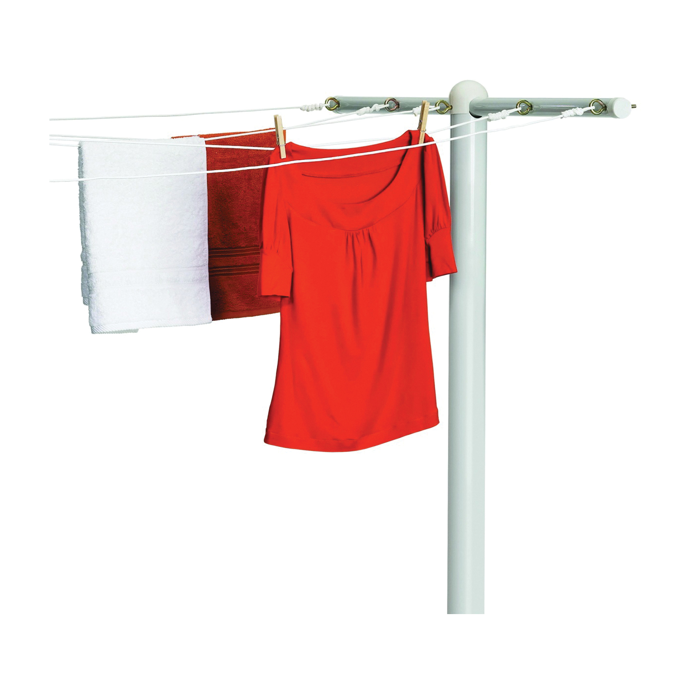 Picture of Honey-Can-Do DRY-01452 Drying Pole, 3 in OAW, 45-3/4 in OAD, Steel