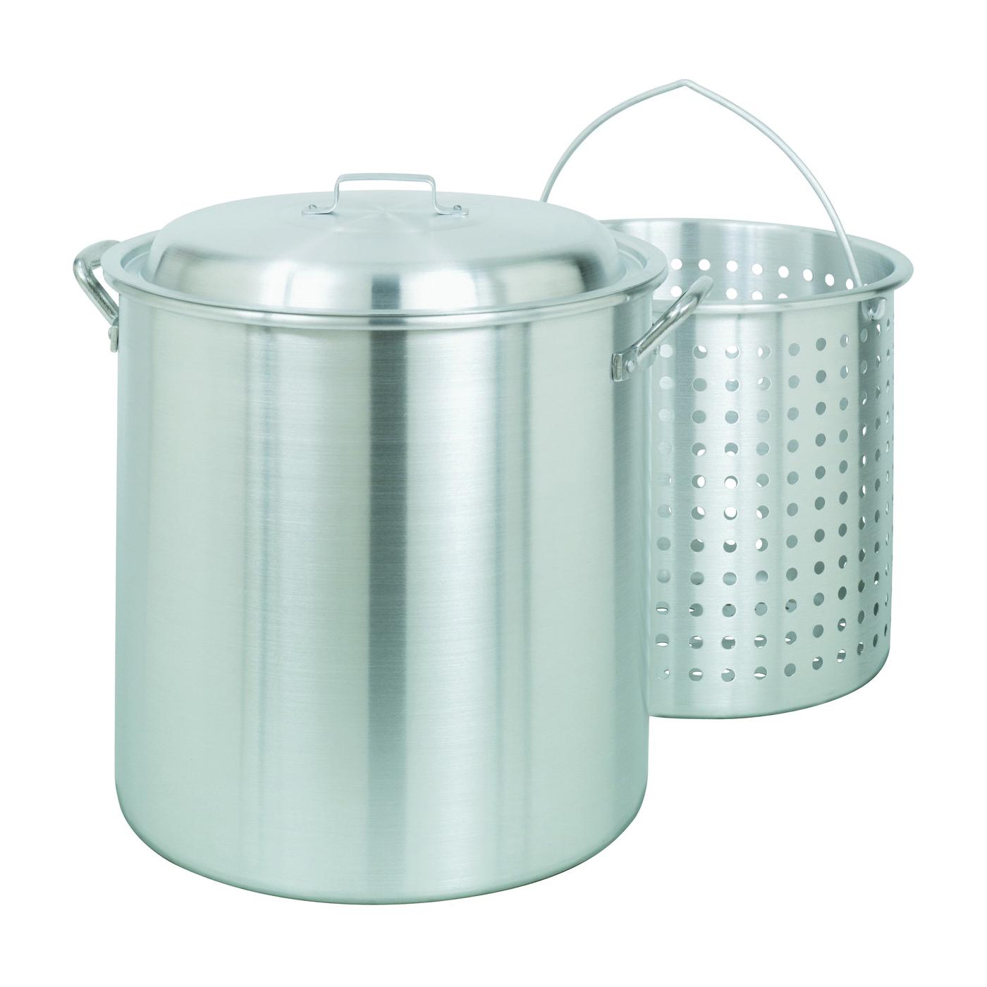 Picture of Bayou Classic 1000 Stock Pot, 100 qt Capacity, Aluminum