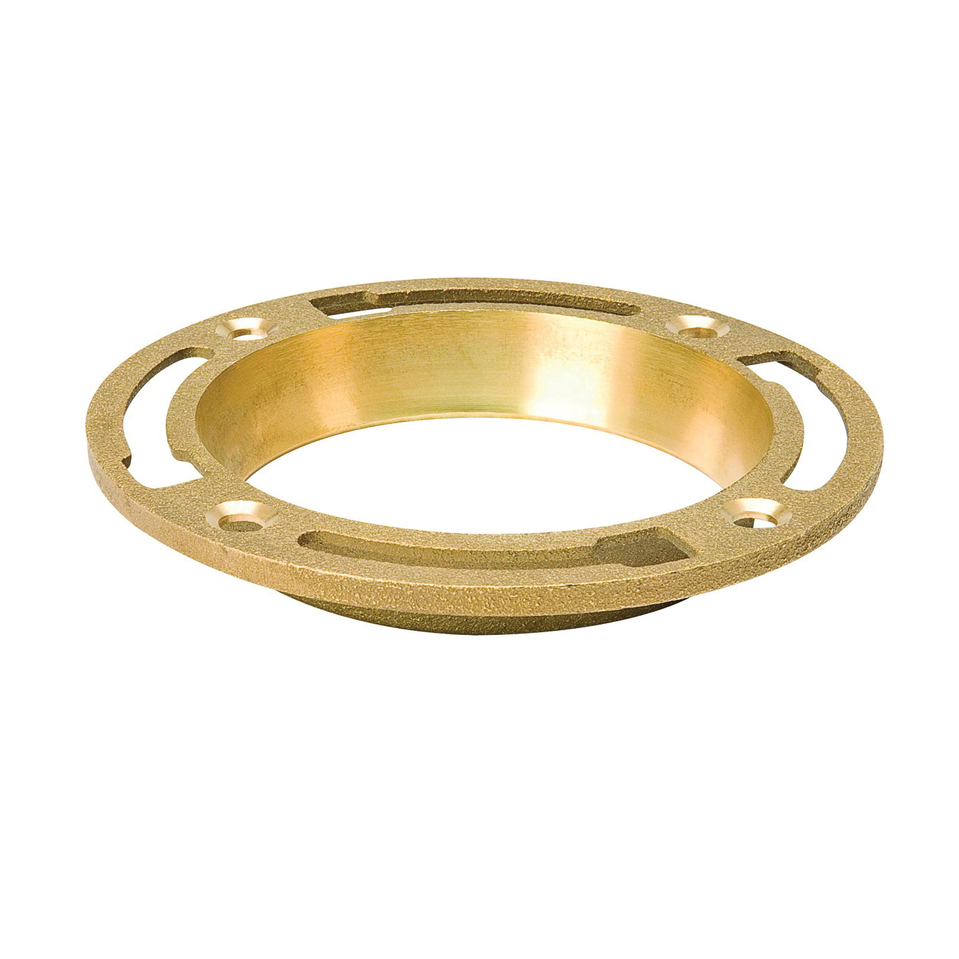 Picture of B & K 152-001 Closet Floor Flange, Brass, For: Both 3 in and 4 in SCH 40