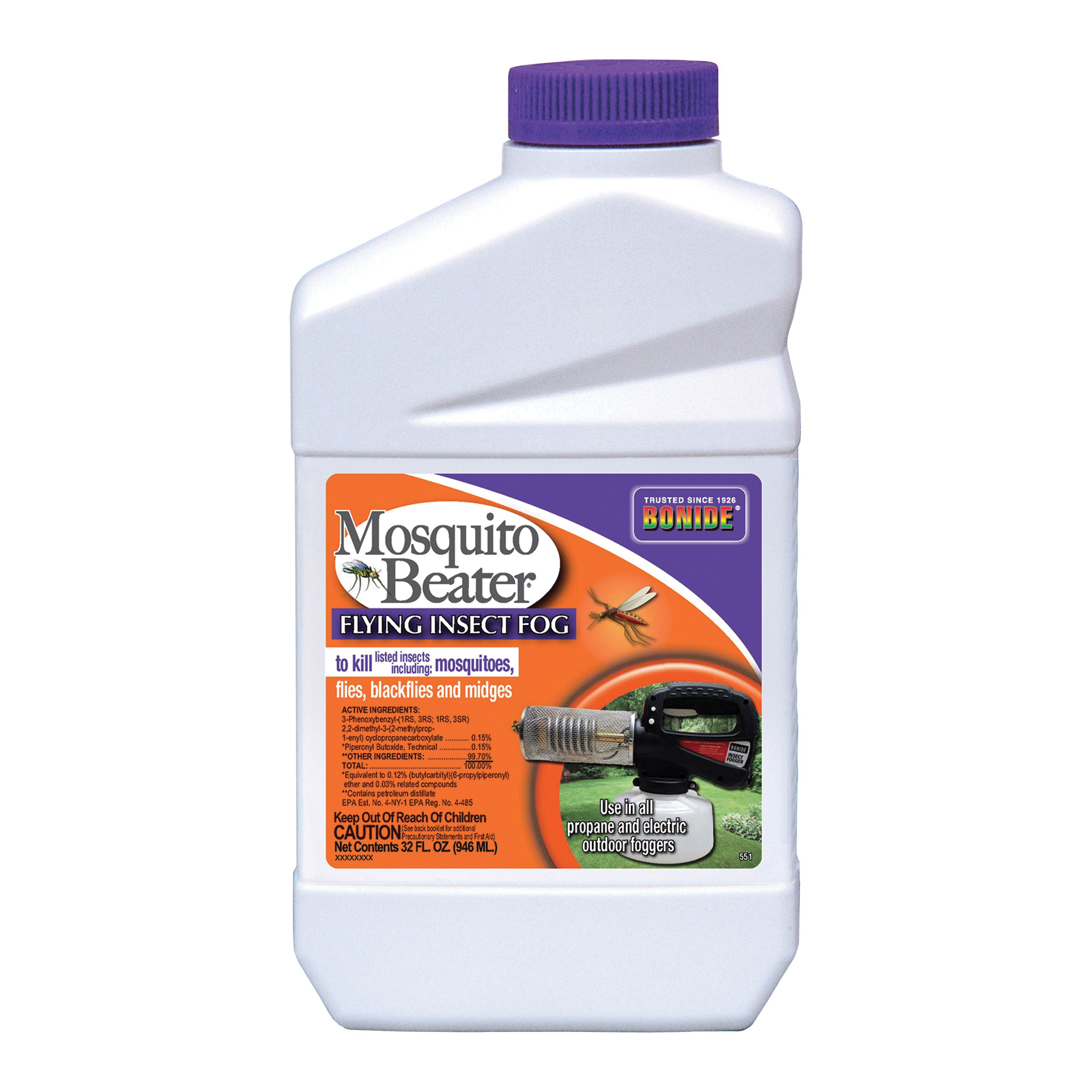 Picture of Bonide 551 Flying Insect Fog, 1/2 gal/acre Coverage Area, Clear