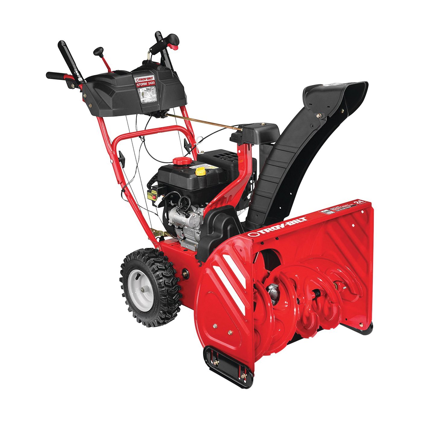 Picture of MTD 31AM6BO2766 Snow Thrower, 2 -Stage, 24 in W Cleaning