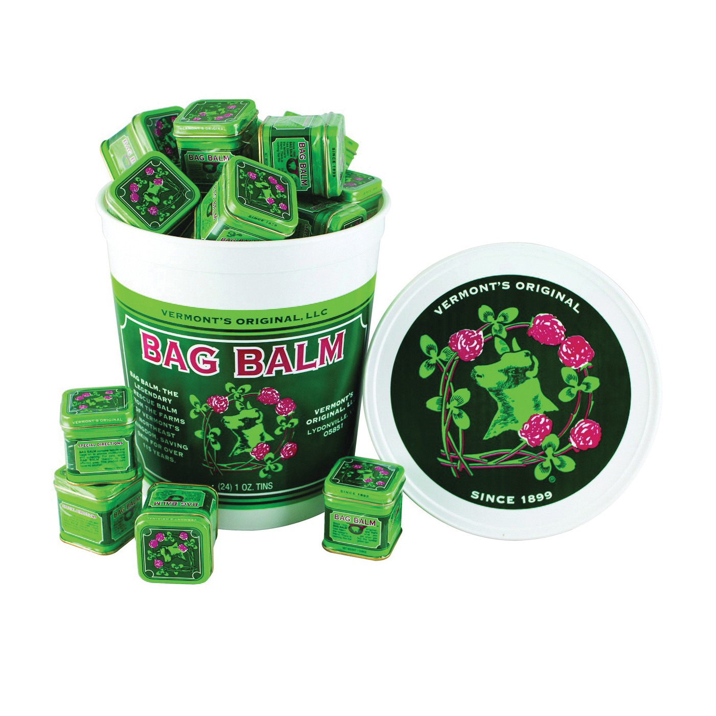 Picture of Bag Balm PAIL-PAK-S Udder Care, 1 oz Package