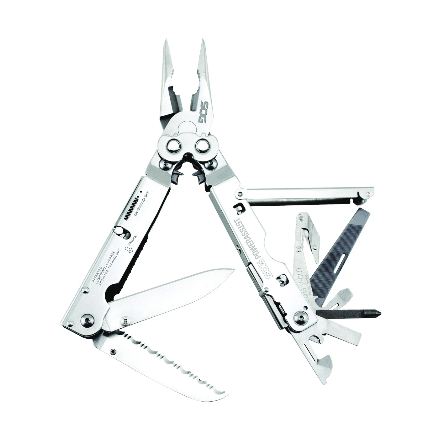 Picture of SOG POWERASSIST B66N-CP Multi-Tool with Blades