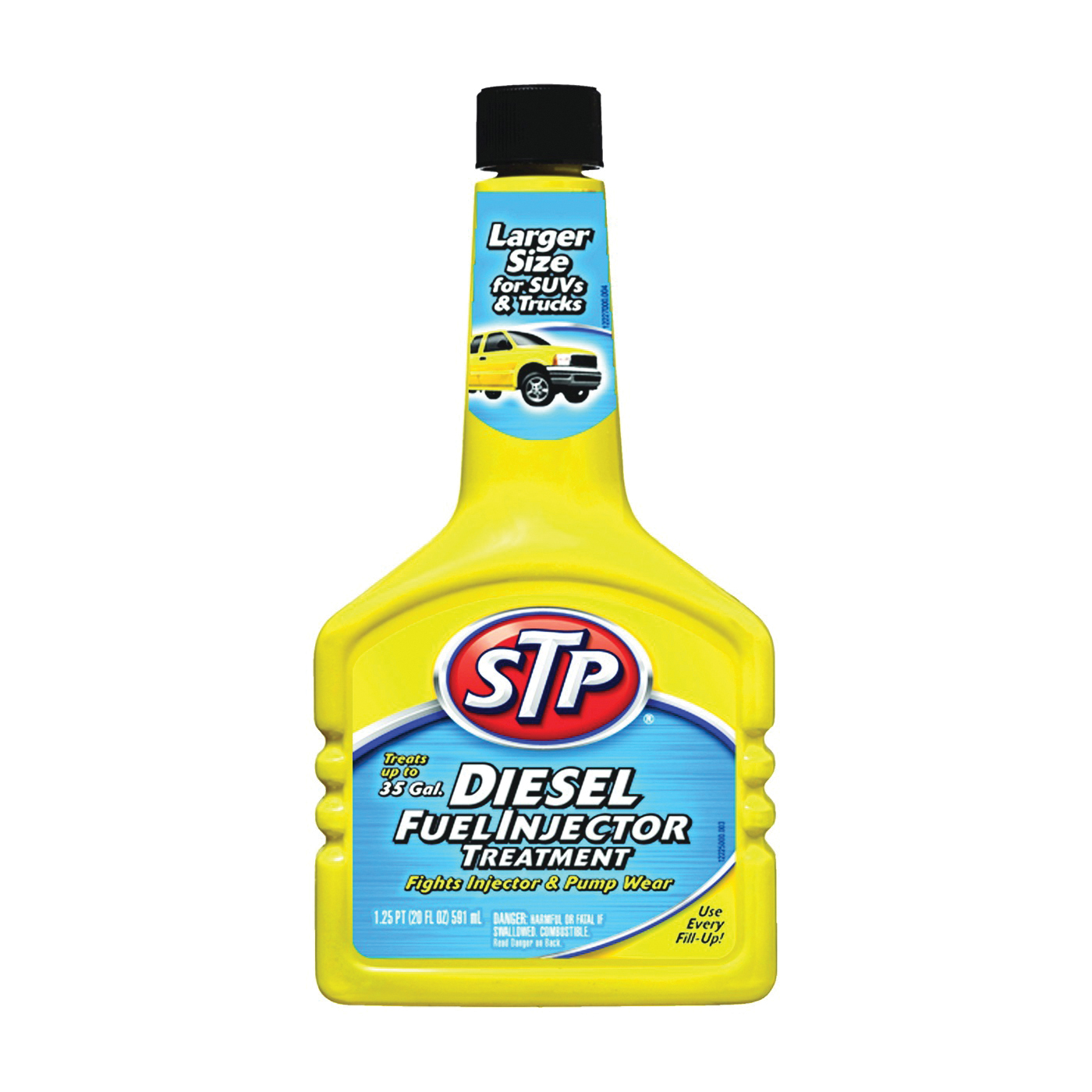 Picture of STP 78380 Fuel Injector Treatment Straw, 20 oz Package, Bottle