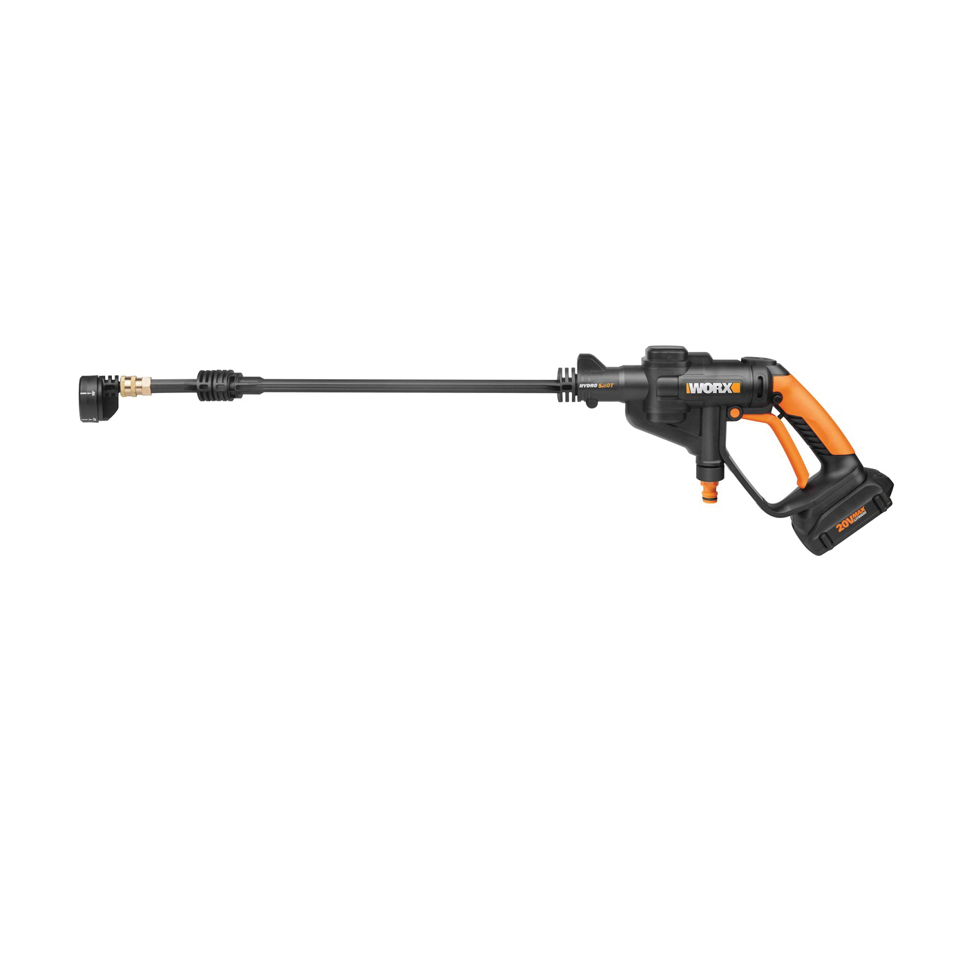 Picture of WORX WG629 Power Cleaner, 20 V Battery, 0.5 gpm, 94/320 psi Pressure