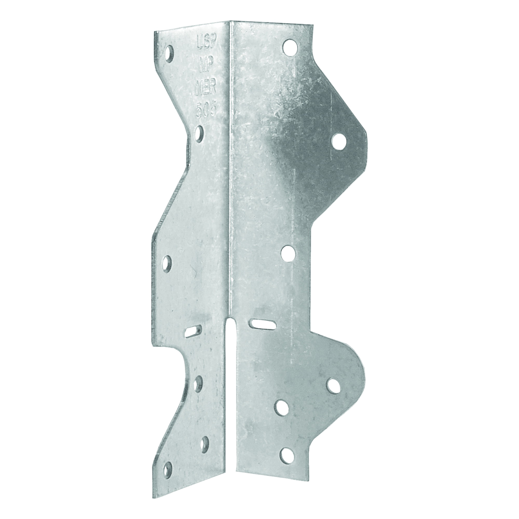 Picture of MiTek MPA1-TZ Framing Angle, 1-1/2 in W, 1-7/16 in D, 4-1/2 in H, Steel, Zinc