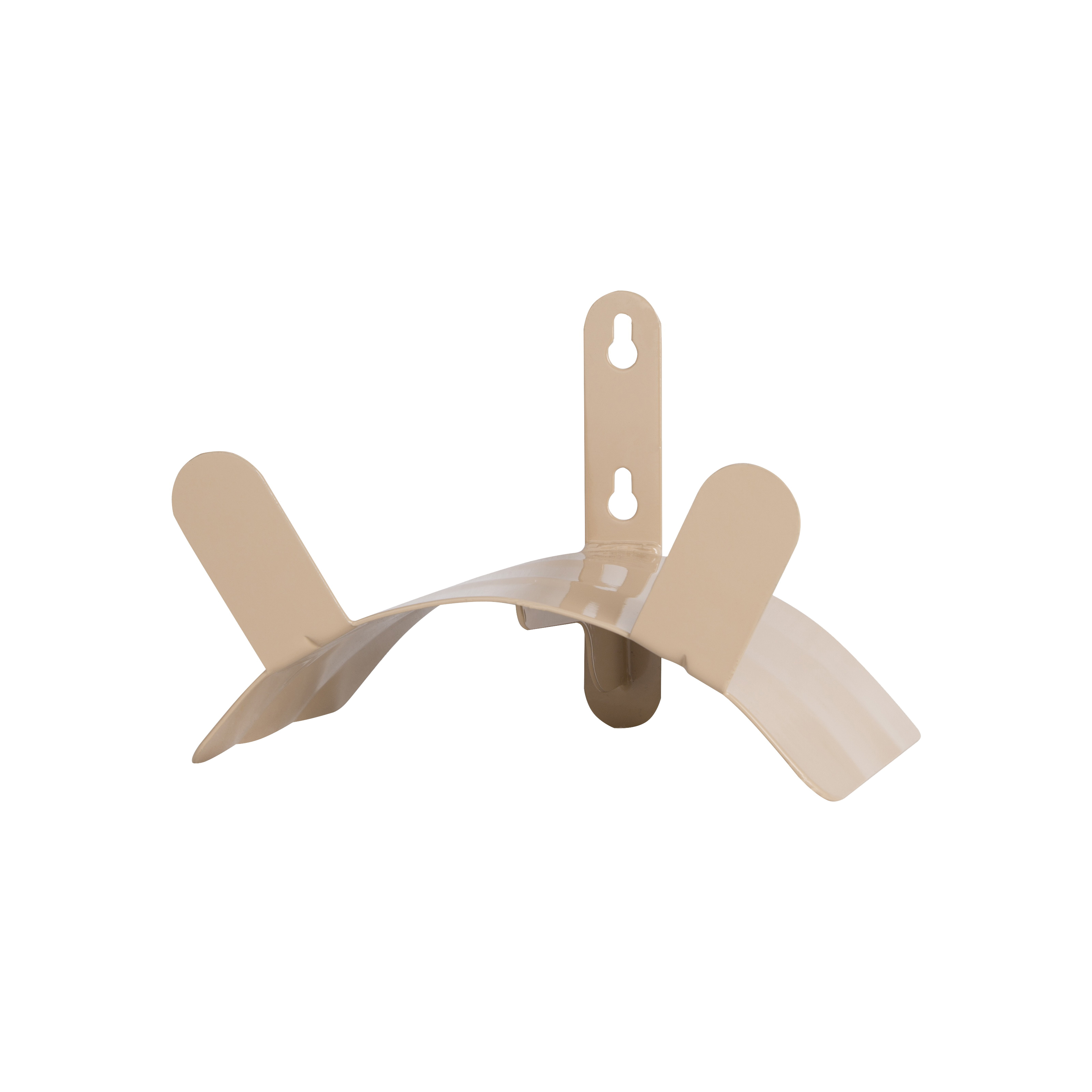 Picture of Landscapers Select HH-691 Hose Hanger, 125 ft Capacity, Steel, Tan, Powder-Coated, Wall Mounting