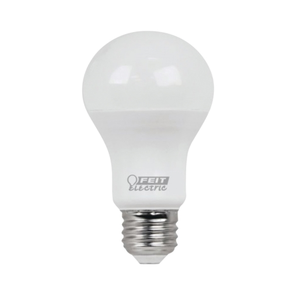 Picture of Feit Electric A450/827/10KLED/4 LED Lamp, 6 W, Medium E26 Lamp Base, A19 Lamp, Soft White Light, 450 Lumens