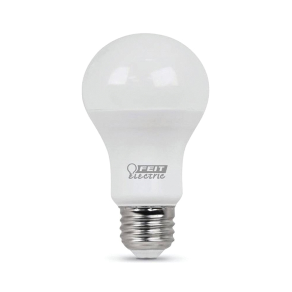 Picture of Feit Electric A800/827/10KLED LED Lamp, 10 W, Medium E26 Lamp Base, A19 Lamp, Soft White Light, 800 Lumens