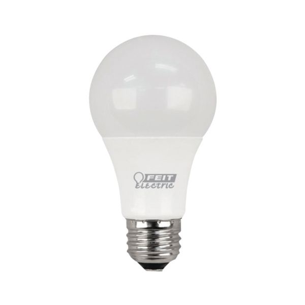 Picture of Feit Electric A800/827/10KLED/4 LED Lamp, 10 W, Medium E26 Lamp Base, A19 Lamp, Soft White Light, 800 Lumens