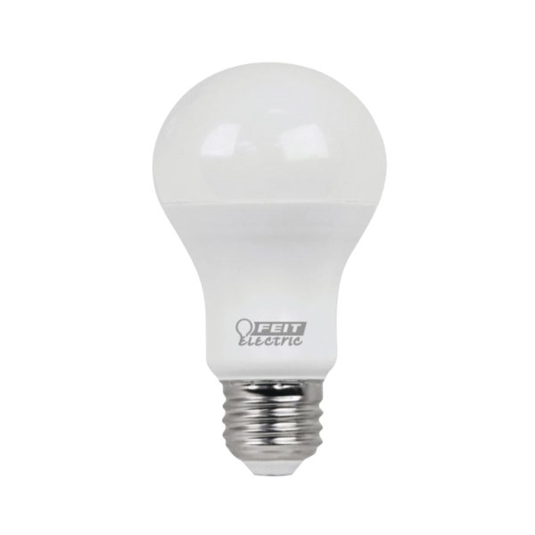 Picture of Feit Electric A800/850/10KLED/4 LED Lamp, 10 W, Medium E26 Lamp Base, A19 Lamp, Daylight Light, 800 Lumens