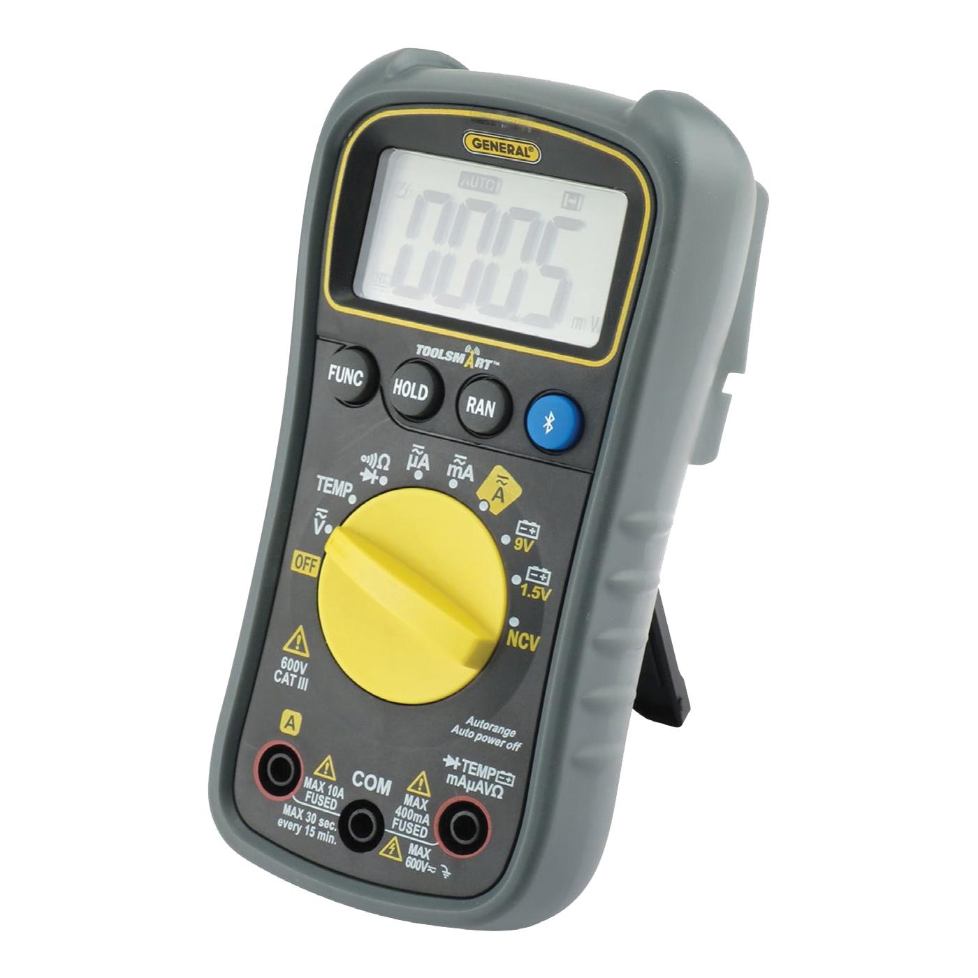 Picture of GENERAL ToolSmart TS04 Digital Multimeter, Digital Display