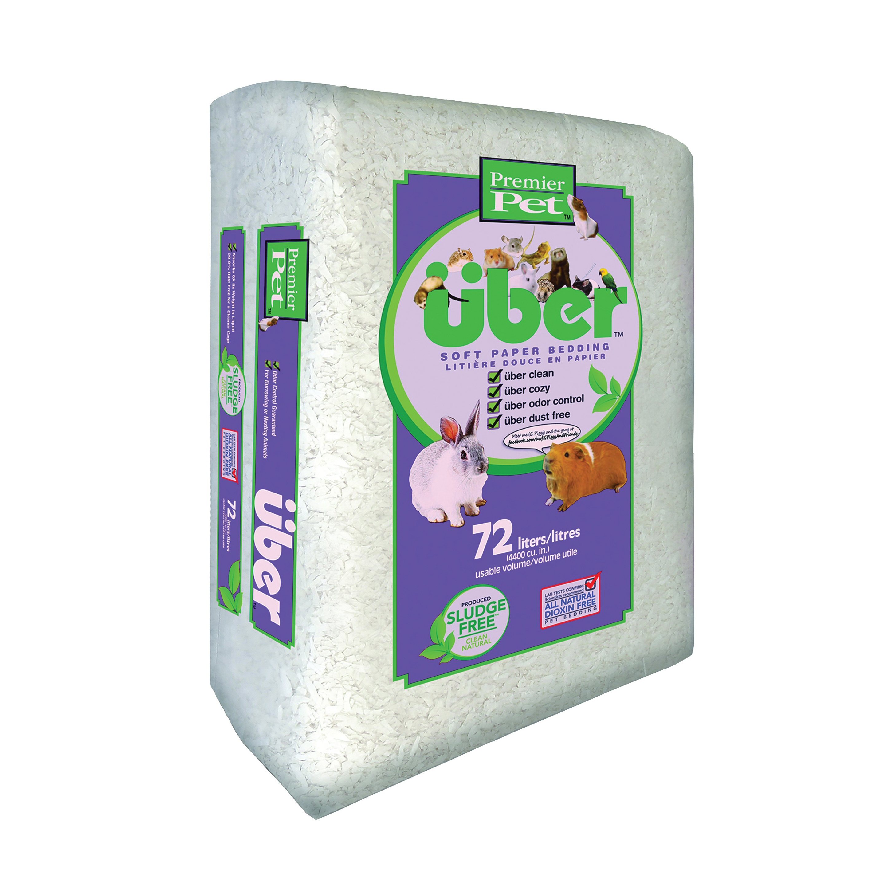 Picture of Premier Pet Uber W801000PWB Pet Bedding, White