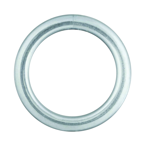 Picture of National Hardware 3155BC Series N223-131 Welded Ring, 270 lb Working Load, 1-1/4 in ID Dia Ring, #4 Chain, Steel