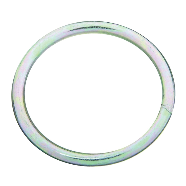 Picture of National Hardware 3155BC Series N223-164 Welded Ring, 300 lb Working Load, 2-1/2 in ID Dia Ring, #2 Chain, Steel