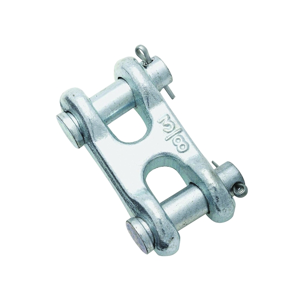 Picture of National Hardware 3248BC Series N240-887 Clevis Link, 3/8 in Trade, 5400 lb Working Load, 43 Grade, Steel, Zinc