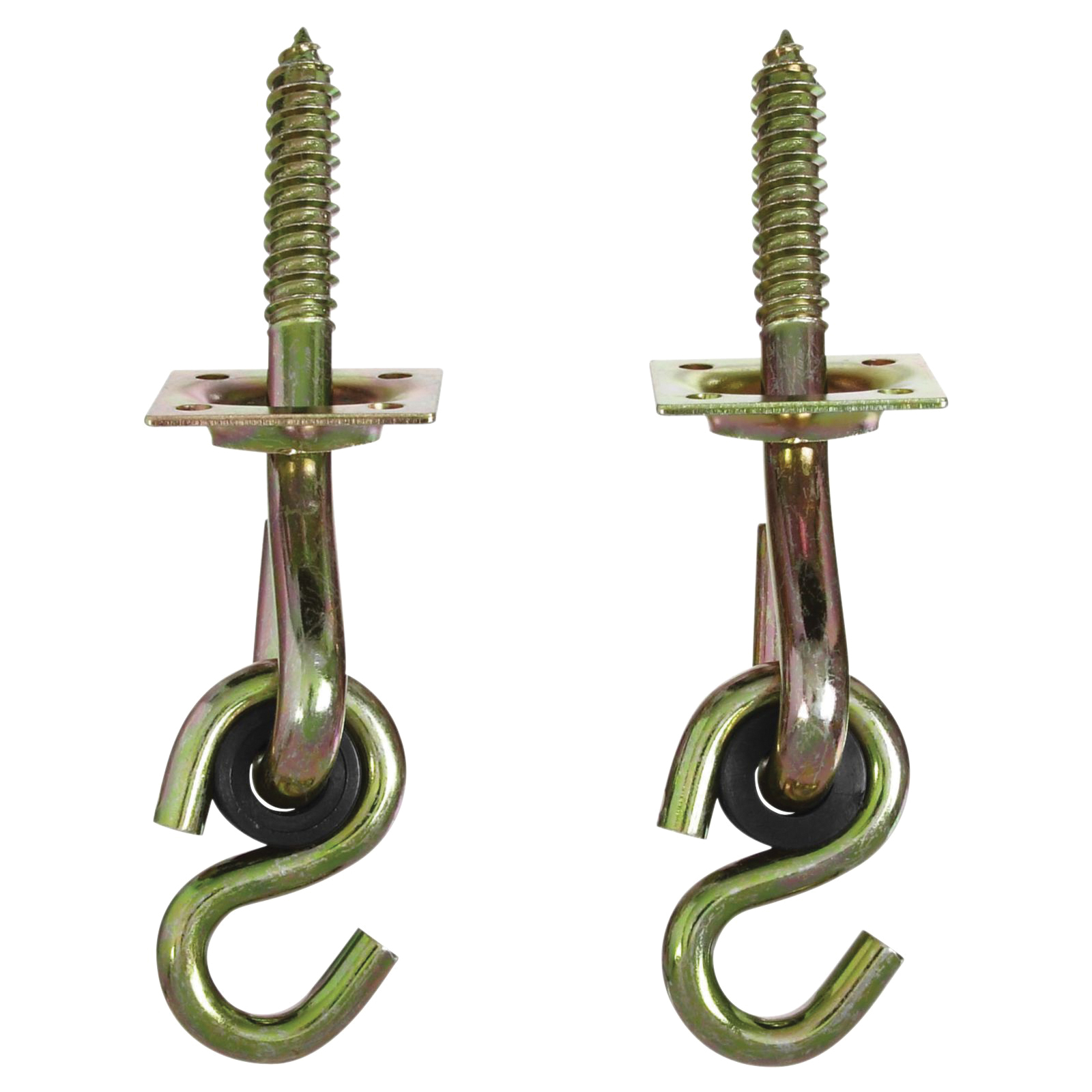 Picture of National Hardware V2038 Series N264-069 Swing Hook Kit, 0.32 in Opening, Steel, Yellow