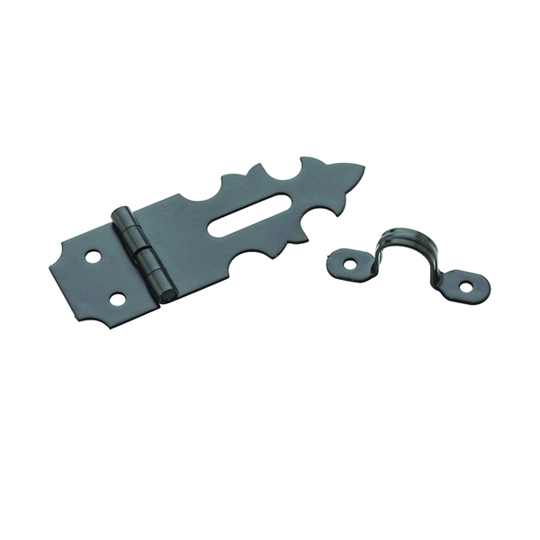 Picture of National Hardware V1824 Series N211-022 Decorative Hasp, 1-7/8 in L, 5/8 in W, Steel, Oil-Rubbed Bronze