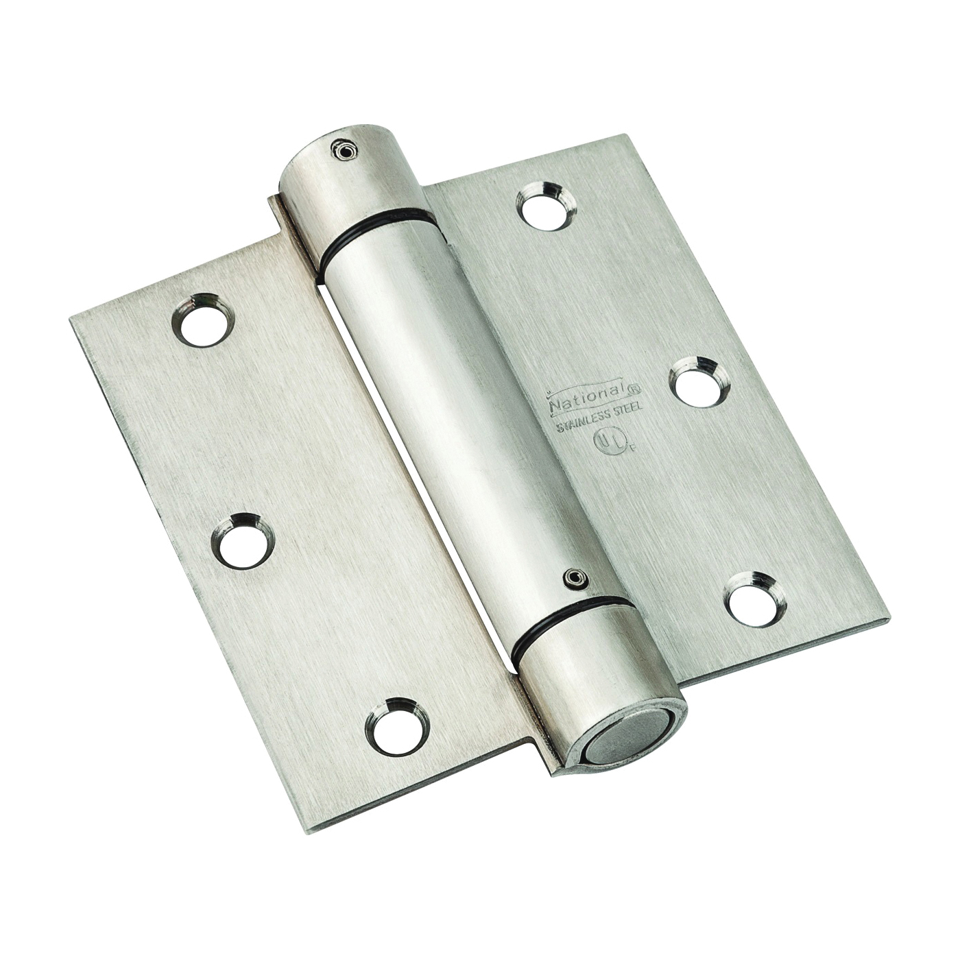 Picture of National Hardware N350-785 Spring Hinge, Stainless Steel, Zinc, 30 lb