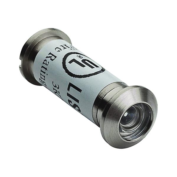 Picture of National Hardware MPB1461 Series N830-288 Door Viewer, 160 deg Viewing, 1-3/8 to 2 in Thick Door, Zinc, Satin Nickel