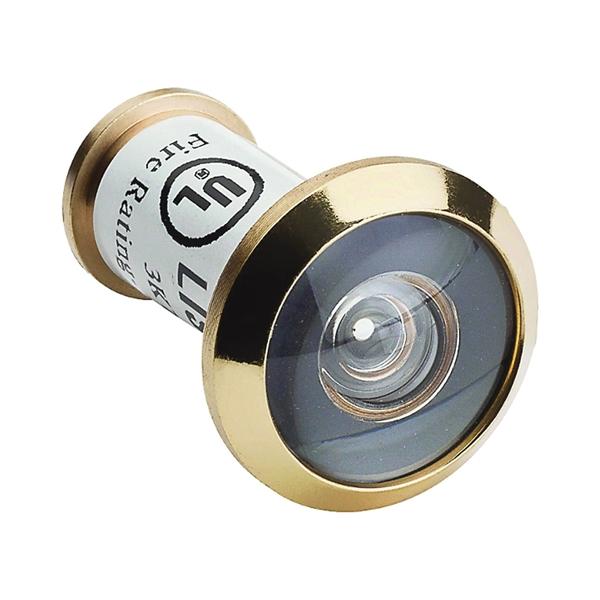 Picture of National Hardware MPB1462 Series N830-290 Door Viewer, 180 deg Viewing, 1-3/8 to 2-1/16 in Thick Door, Zinc