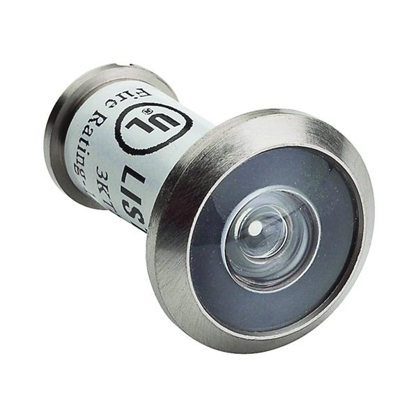 Picture of National Hardware MPB1462 Series N830-291 Door Viewer, 180 deg Viewing, 1-3/8 to 2-1/16 in Thick Door, Zinc