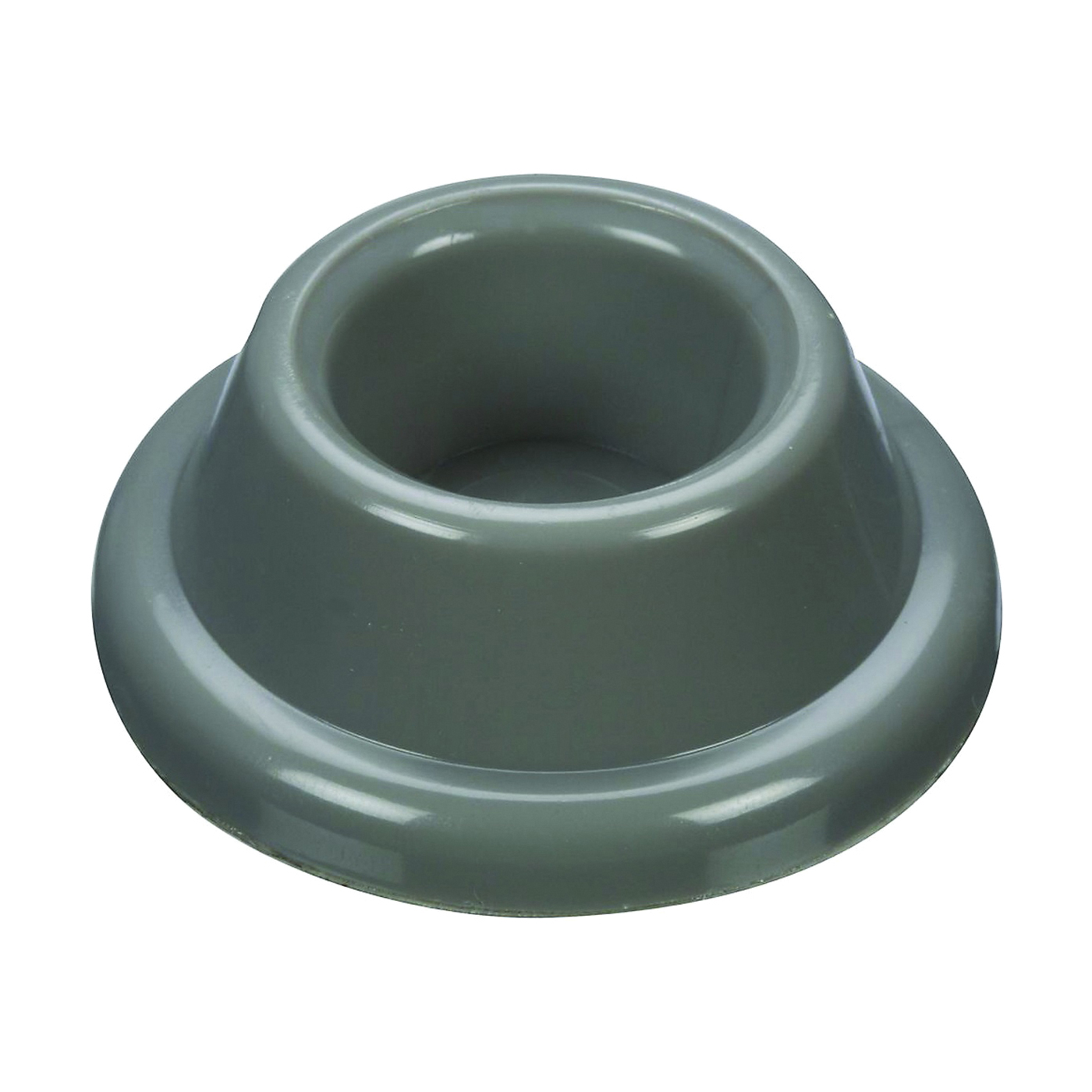 Picture of National Hardware N243-808 Door Stop, 1.9 in Dia Base, 0.72 in Projection, Plastic, Gray