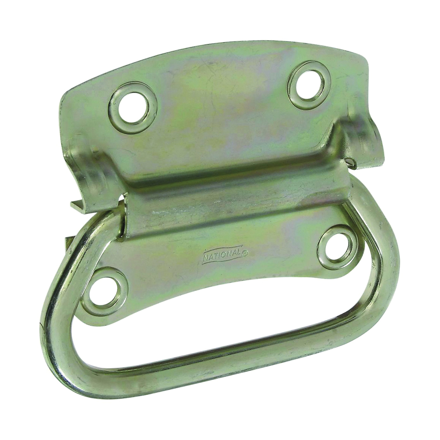 Picture of National Hardware SPB175 Series N226-886 Chest Handle, 4.23 in L, 3-1/2 in W, Steel, Zinc
