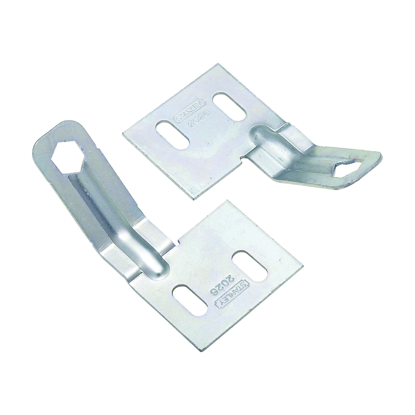Picture of National Hardware V391A Series N344-895 Folding Door Aligner, Steel, Zinc, 2