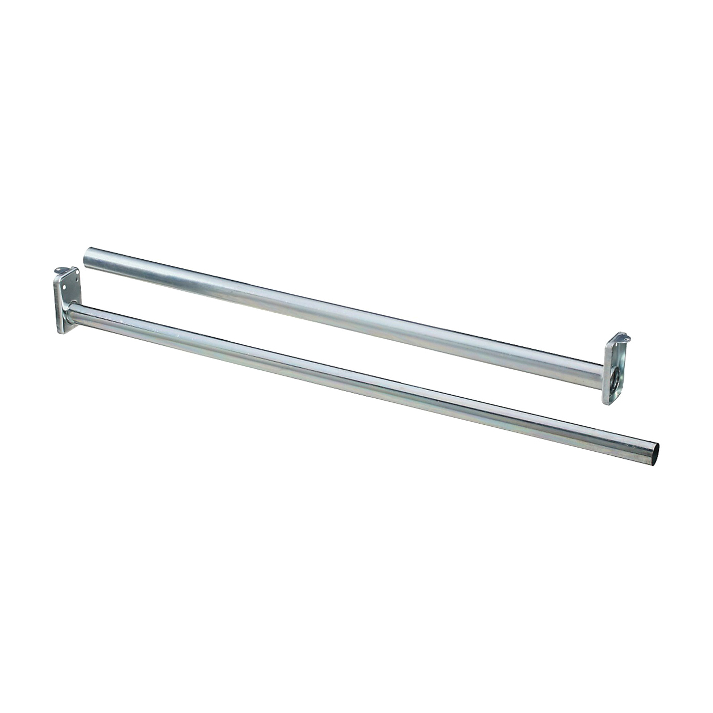 Picture of National Hardware DPV209 Series N338-327 Closet Rod, 48 to 72 in L, Steel, Bright