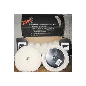 Picture of Dico 585-51103 Compound Pad, 6 in Dia