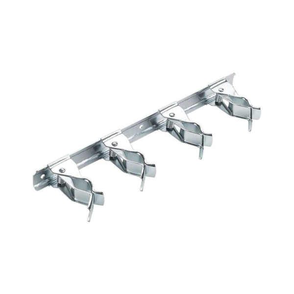 Picture of National Hardware N112-074 Tool Storage Clip, 4 -Compartment, Steel