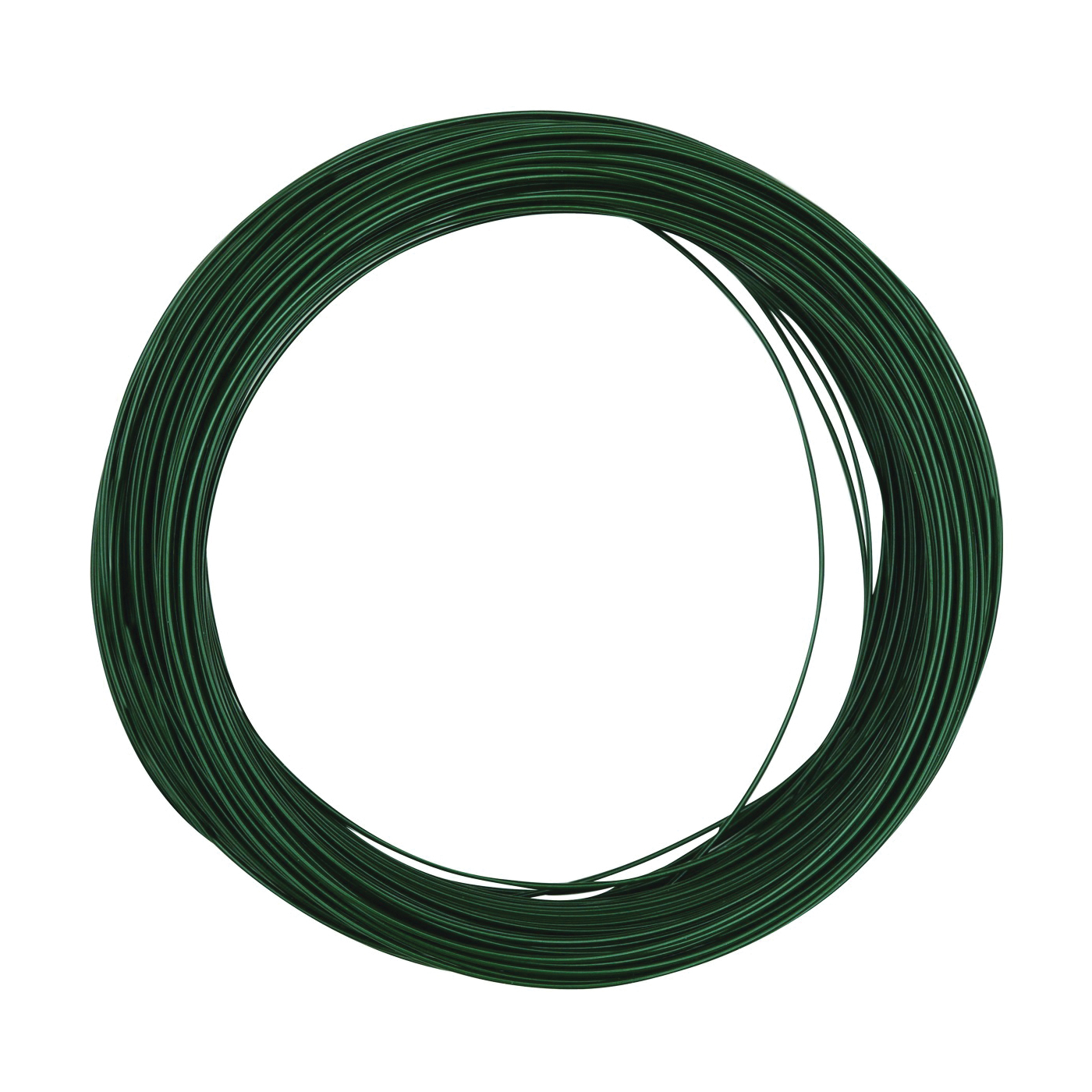 Picture of National Hardware N274-985 Floral Wire, 100 ft L, Steel, Green