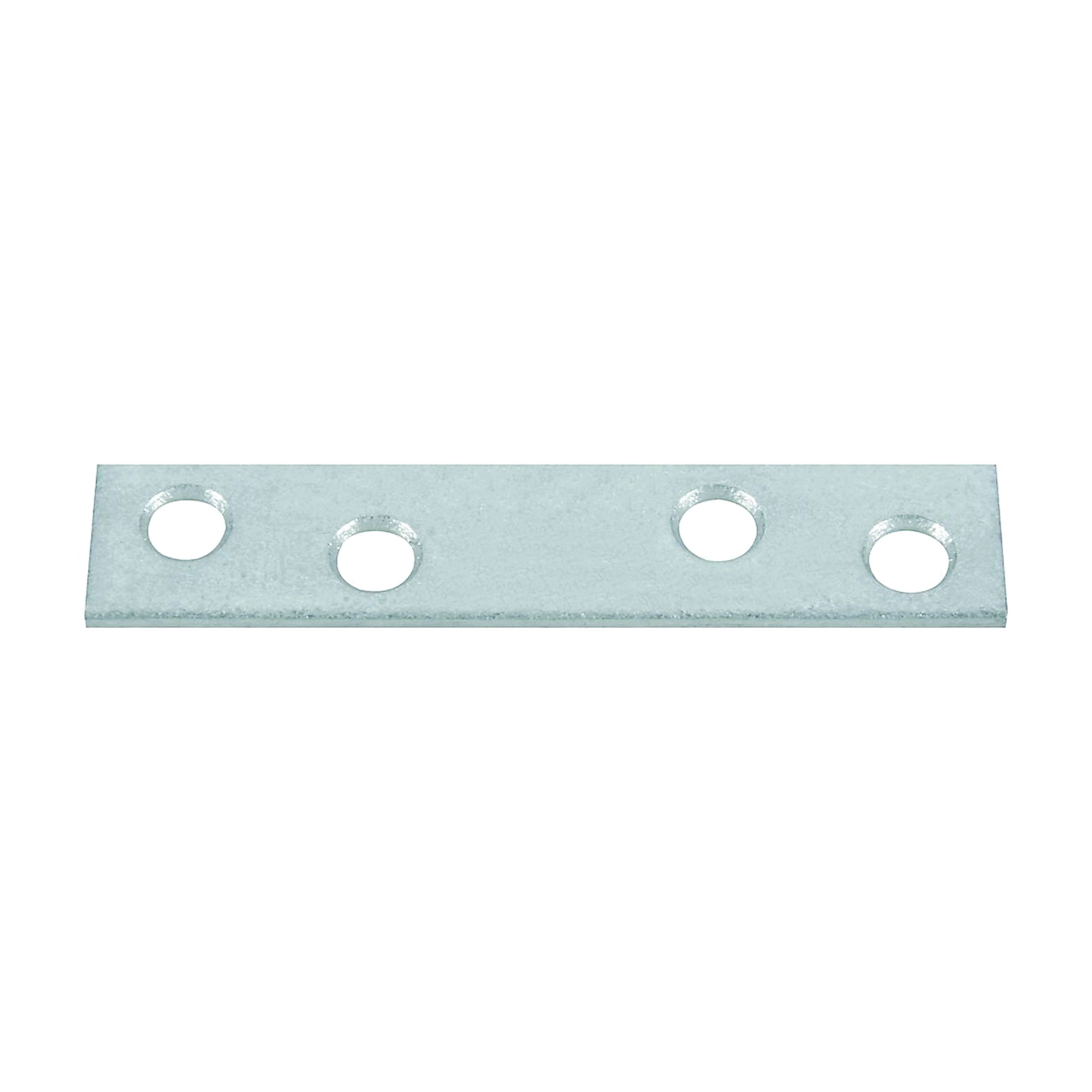 Picture of National Hardware N114-363 Mending Brace, 3 in L, 5/8 in W, Steel, Galvanized, Screw Mounting