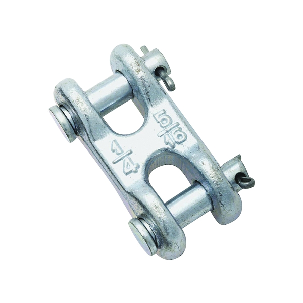 Picture of National Hardware 3248BC Series N240-879 Clevis Link, 1/4 x 5/16 in Trade, 3900 lb Working Load, 43 Grade, Steel