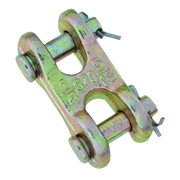 Picture of National Hardware 3248BC Series N282-129 Clevis Link, 1/4 x 5/16 in Trade, 4700 lb Working Load, 70 Grade, Steel