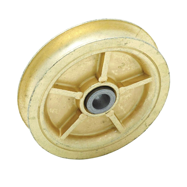 Picture of National Hardware V3211S Series N245-910 Pulley Sheave Assembly, 1/2 in Rope, 3 in Sheave, Zinc