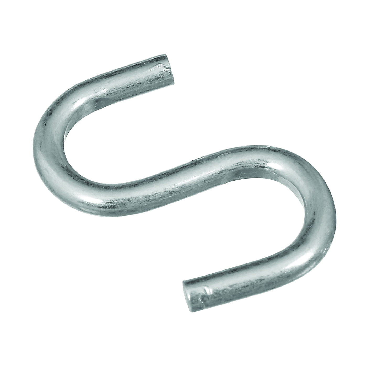 Picture of National Hardware N344-796 S-Hook, 20 lb Working Load, Steel, Zinc
