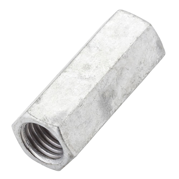 Picture of National Hardware 4013BC Series N182-718 Coupler Nut, UNC Thread, 5/8-11 Thread, Galvanized