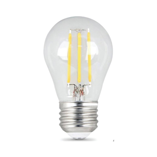 Picture of Feit Electric BPA1525/827/LED/2 LED Lamp, 3 W, Medium E26 Lamp Base, A15 Lamp, Soft White Light, 200 Lumens