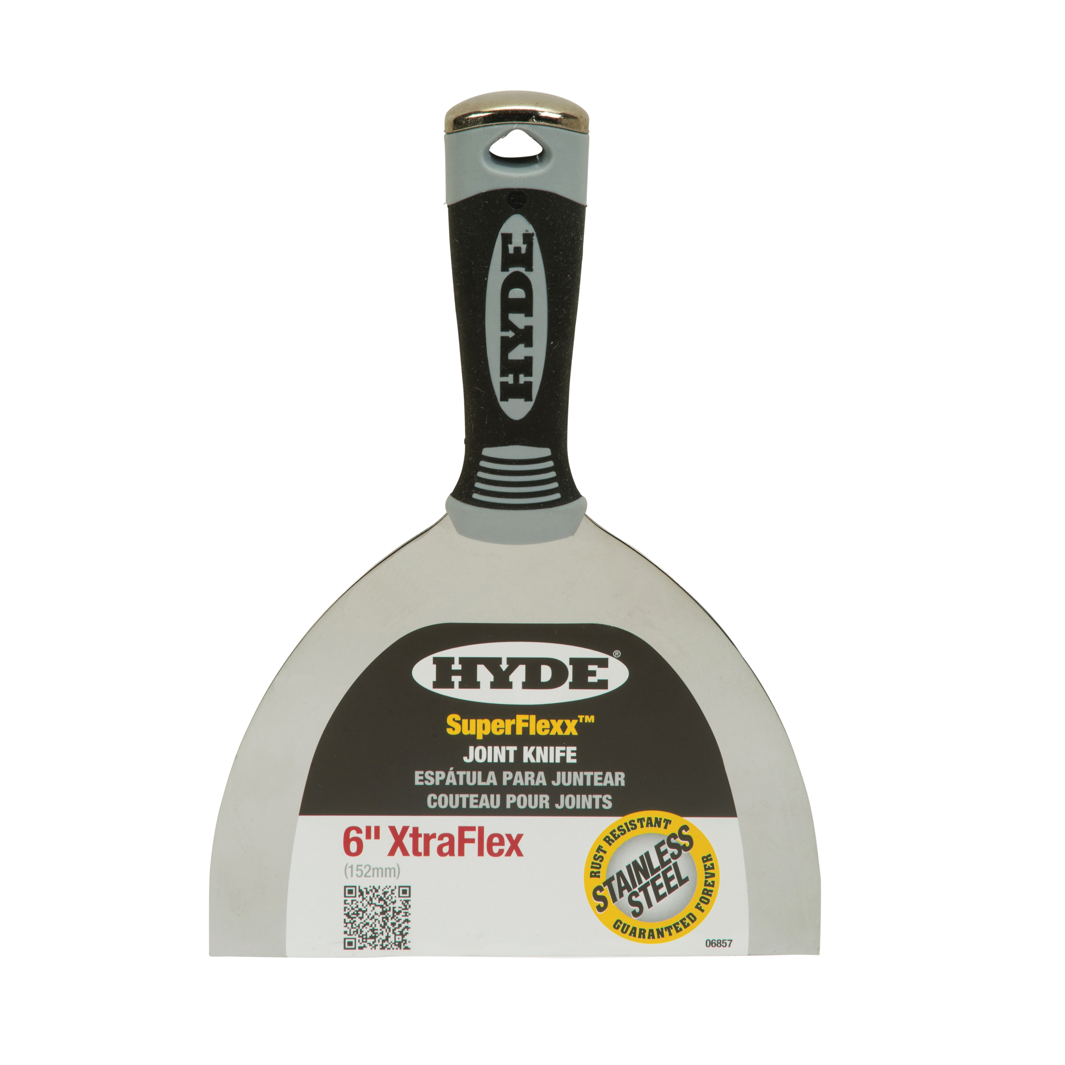 Picture of HYDE 06857 Joint Knife, 6 in W Blade, Stainless Steel Blade, Flexible Blade