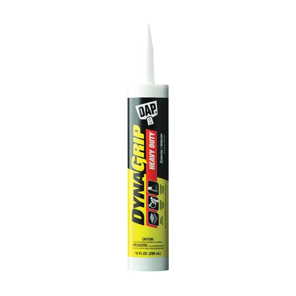 Picture of DAP DYNAGRIP 27509 Construction Adhesive, Off-White, 10 oz Package, Cartridge