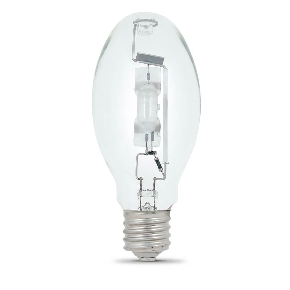 Picture of Feit Electric MH175/U Metal Halide Lamp, 175 W, ED28 Lamp, Mogul E39 Lamp Base, 4000 K Color Temp