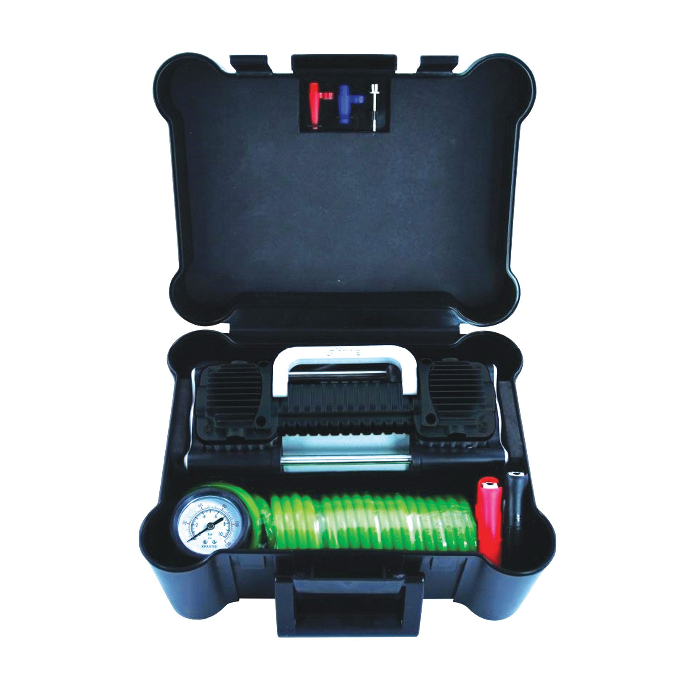 Picture of Slime 2X 40026 Tire Inflator, 12 V, 0 to 150 psi Pressure, Dial Gauge