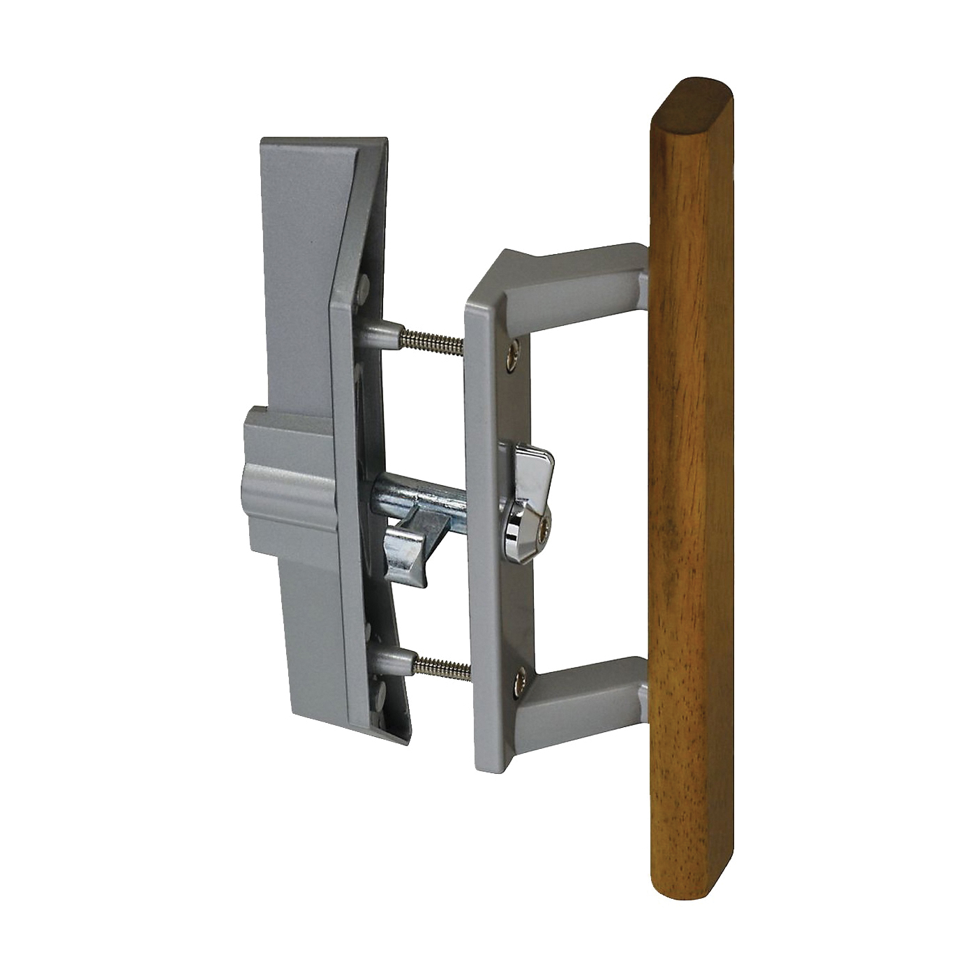 Picture of National Hardware V1363 Series N349-209 Handle/Latch Set, Keyed Key, Zinc, Aluminum