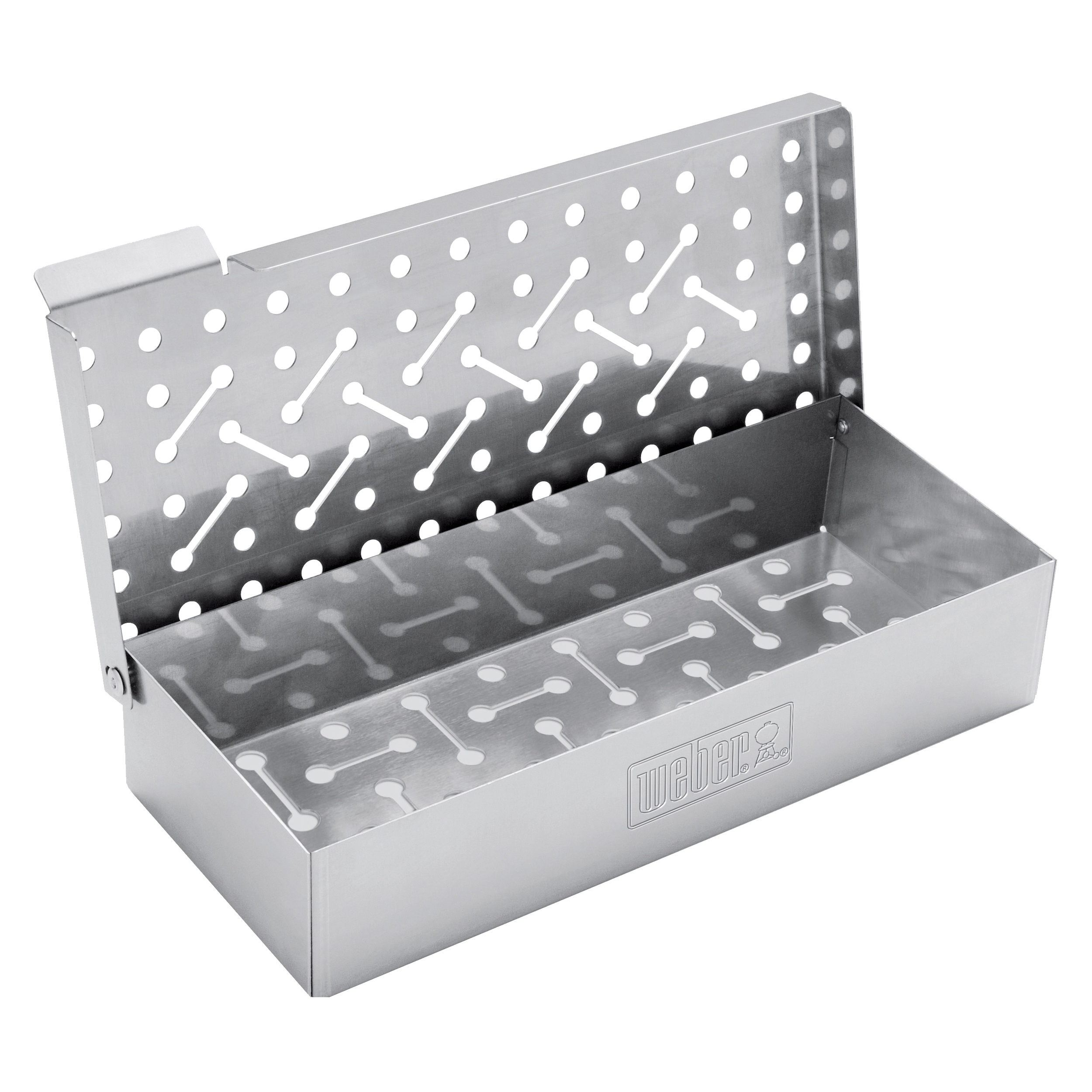 Picture of Weber 7576 Smoker Box, Stainless Steel