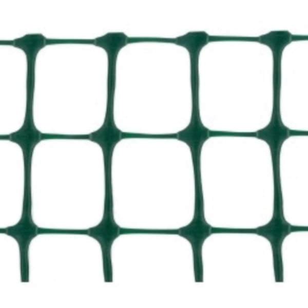 Picture of TENAX 2A140093 Garden Fence, 50 ft L, 4 ft H, 2 x 2 in Mesh, Polyethylene, Green