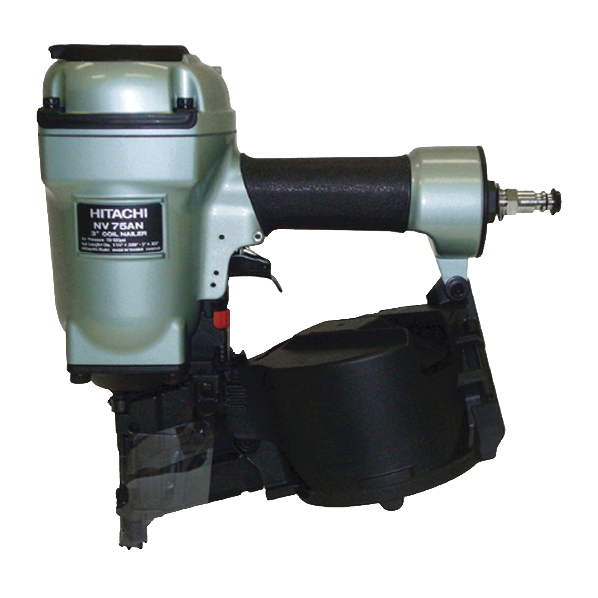 Picture of HITACHI NV75AN Siding/Framing Nailer, 200 to 300 Magazine, 16 deg Collation, Wire Weld Collation
