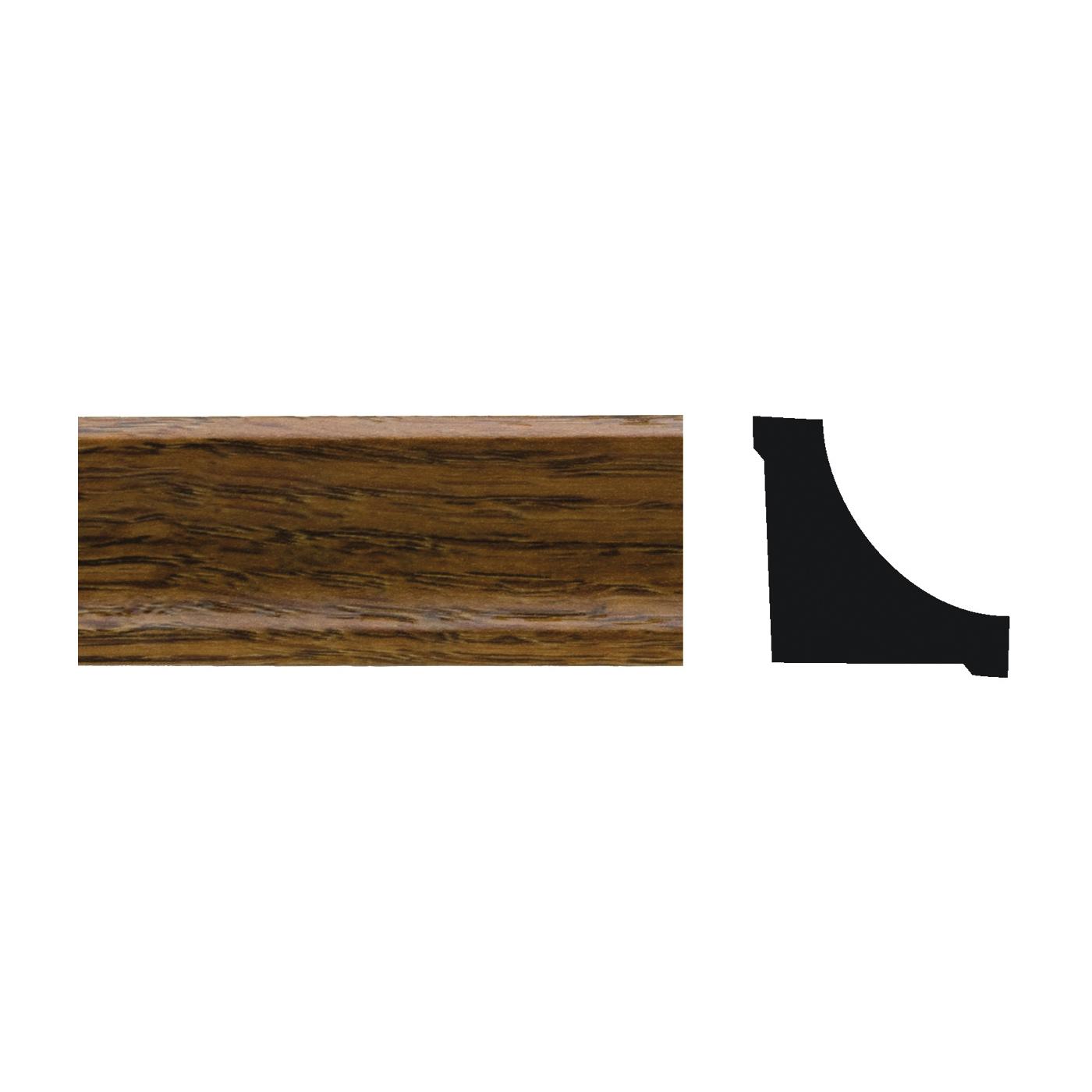 Picture of Royal 5073452 Corner Molding, 8 ft L, 3/4 in W, PVC, Highland Oak