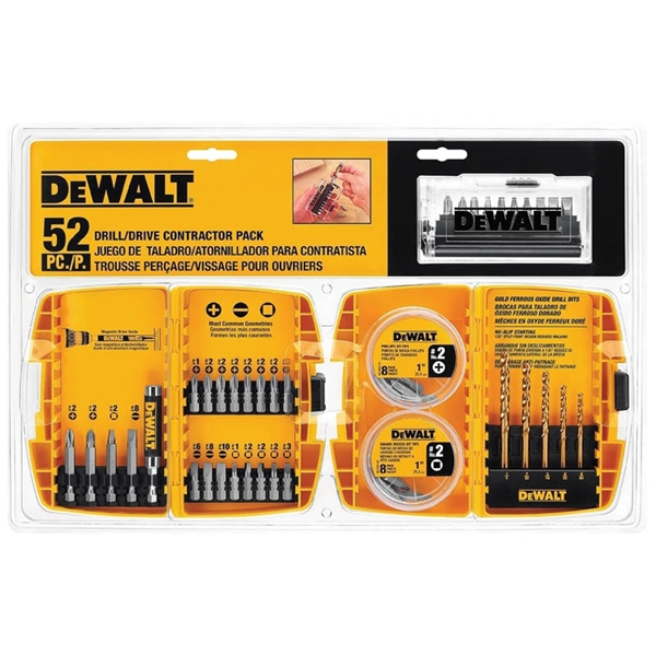Picture of DeWALT DW2178-5 Drill Drive Set, 52 -Piece